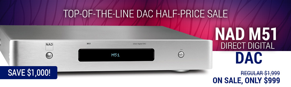 NAD M51 Direct Digital Digital to Analog Converter