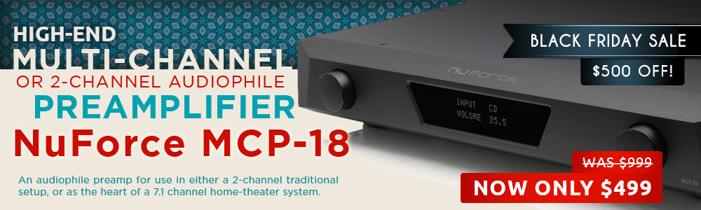 NuForce MCP-18 Preamplifier Black Friday Sale