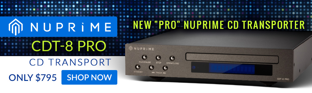 NuPrime CDT-8 Pro CD Transport