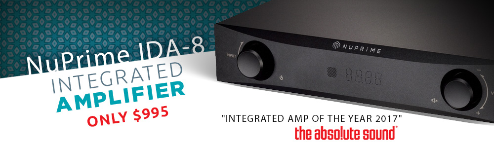 NuPrime IDA 8 Integrated Amplifier