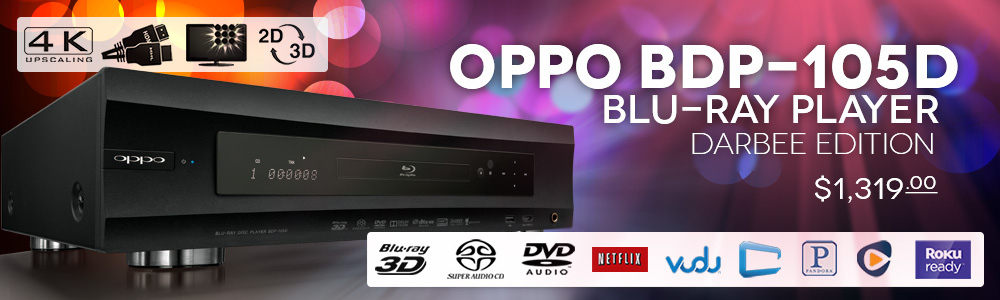 OPPO BDP-105D Blu-ray Player Darbee Edition