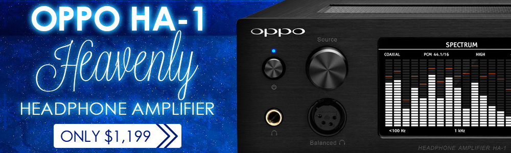 OPPO HA 1 Headphone Amplifier