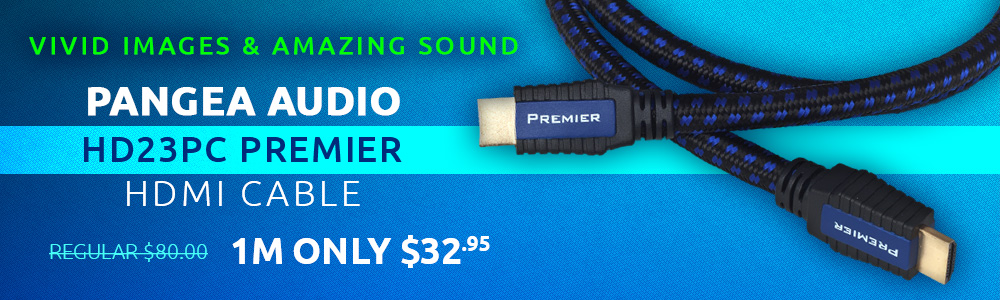Pangea Audio HD23PC Premier HDMI Cable
