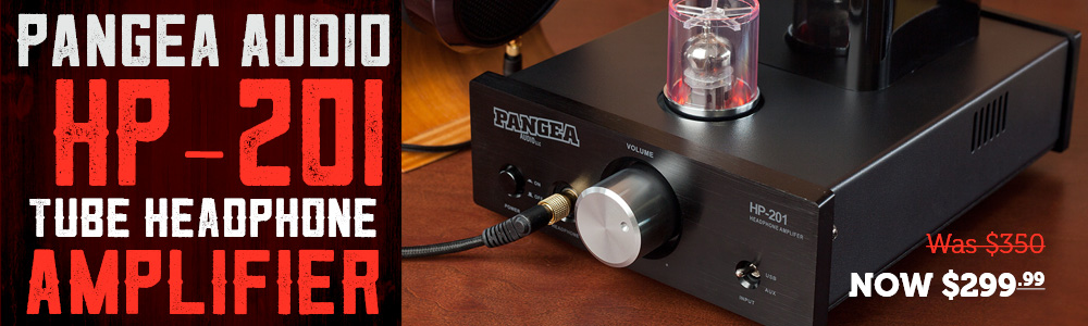 Pangea Audio HP-201 Tube Headphone Amplifier