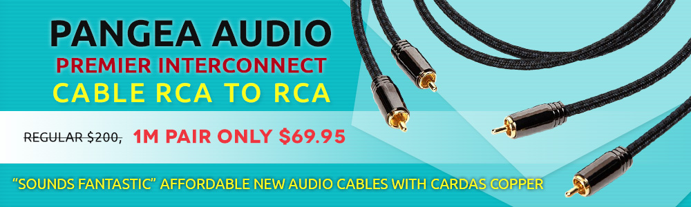 Pangea Audio Premier Interconnect Cable RCA to RCA