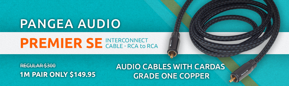 Pangea Audio Premier SE Interconnect Cable RCA to RCA