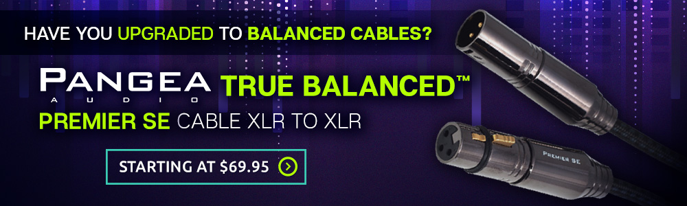 "True Balancedâ""¢ Premier SE Cable XLR to XLR by Pangea Audio"