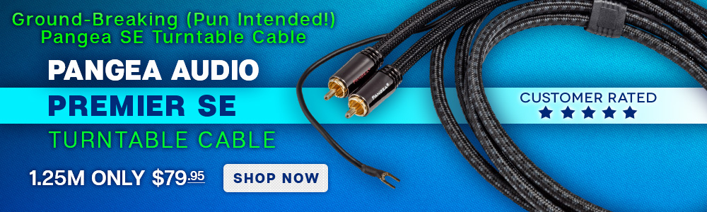 Ground-Breaking (Pun Intended!) - Pangea Audio Premier SE Turntable Cable - 1.25M Only $79.95 - Shop Now