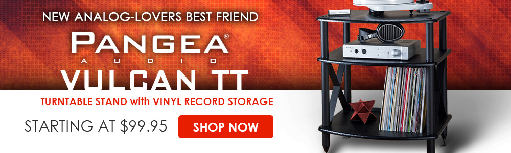 New Analog-Lovers Best Friend - Pangea Audio Vulcan TT Turntable Stand with Vinyl Record Storage