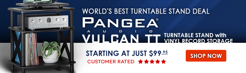 Pangea Audio Vulcan TT Turntable Stand