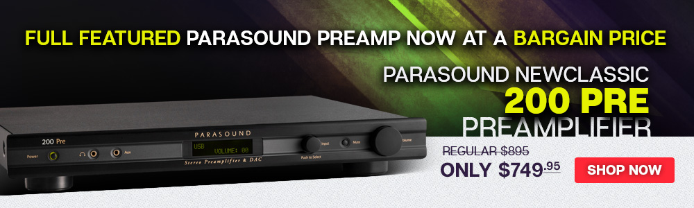 Parasound NewClassic 200 Pre Preamplifier