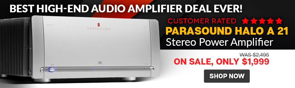 Parasound Halo A 21 Stereo Power Amplifier