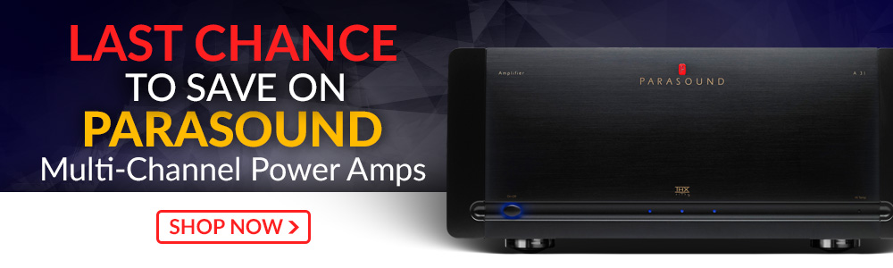 Last Chance to Save on These Parasound Multi-Channel Amps