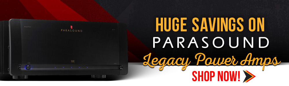 HUGE Savings On Parasound Legacy Power Amps