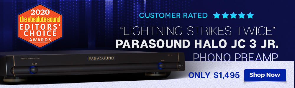 Parasound Halo JC 3 Jr. Phono Preamplifier