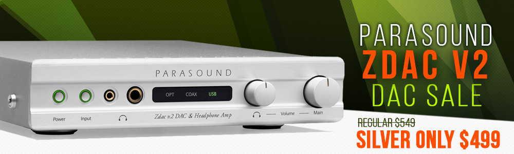 Parasound Zdac v2 Digital to Analog Converter