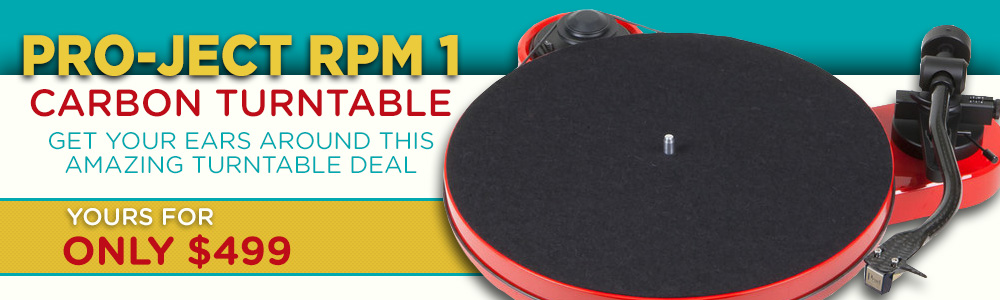 Pro-Ject RPM 1 Carbon Turntable, Get Your Ears Around This Amazing Turtable Deal