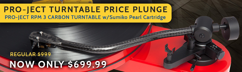 Pro-Ject RPM 3 Carbon Turntable with Sumiko Pearl