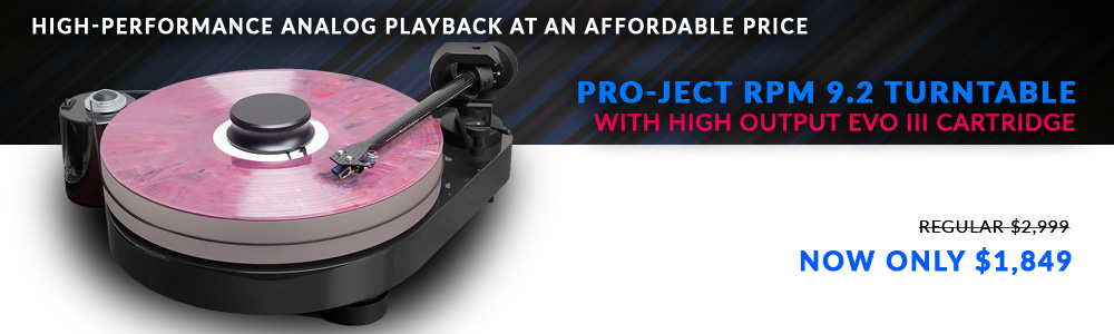 Pro-Ject RPM 9.2 Turntable with High Output Evo III Cartridge