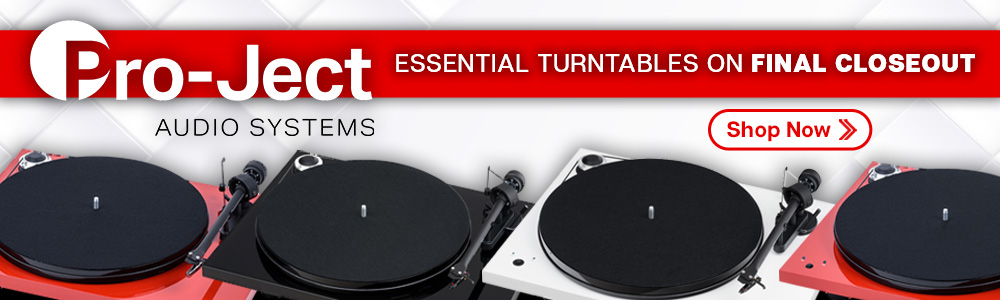 Pro-ject Essential Turntables Now On Final Closeout
