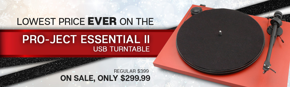 Pro-Ject Essential II USB Turntable Sale