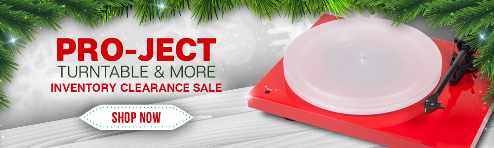 Pro-Ject Turntable & More Inventory Clearance Sale