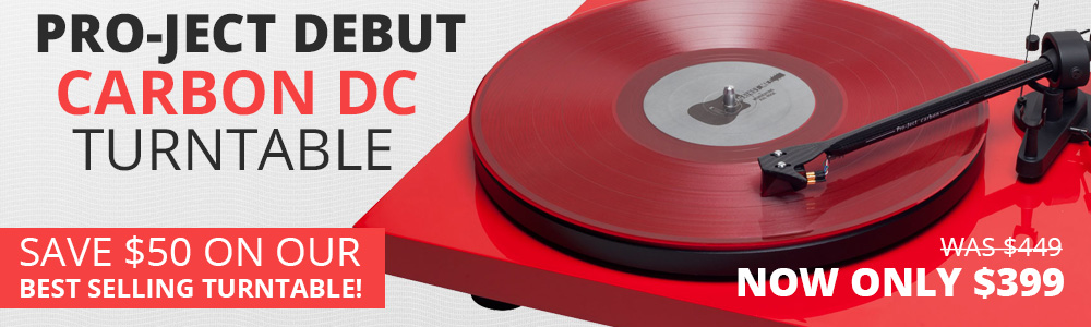 Pro-Ject Debut Carbon DC Turntable On Sale!