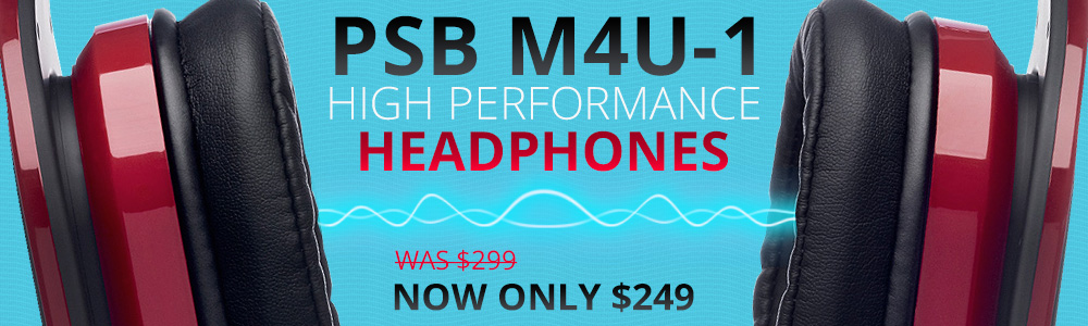 PSB M4U-1 High Performance Headphone