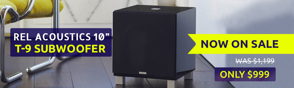 REL Acoustics T9 10 Inch Powered Subwoofer