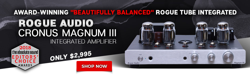 Rogue Audio Cronus Magnum III Integrated Amplifier