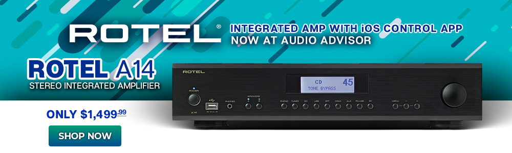 Rotel A14 Stereo Integrated Amplifier