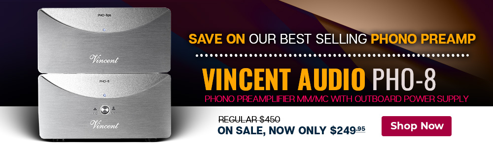 Vincent PHO 8 Phono Preamplifier MM/MC