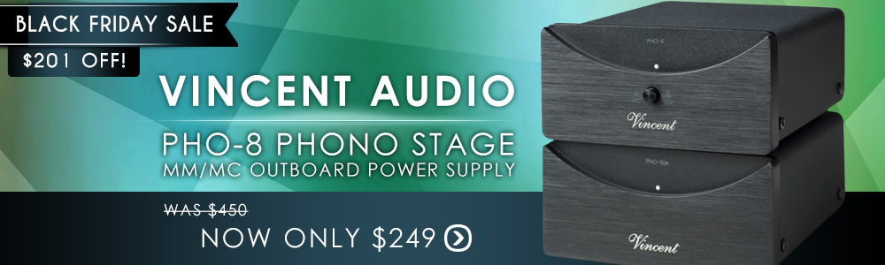 Vincent PHO-8 Phono Stage MM/MC Outboard Power Supply