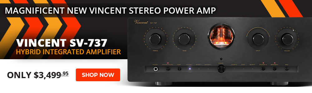 Vincent Audio SV 737 Hybrid Integrated Amplifier