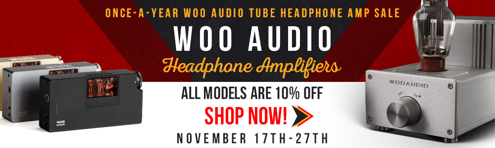 Woo Audio Black Friday Sale 2017