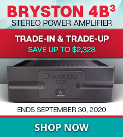 Bryston 4B³ Amp Trade-In & Trade-Up Sale
