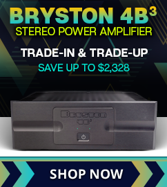 Bryston 4B3 Cubed Stereo Power Amplifier Trade-In Sale