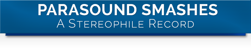 Parasound Smashes a Stereophile Record